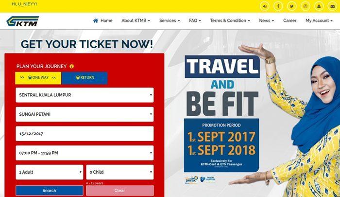 cara beli tiket ets, cara beli tiket ktm, tempah tiket ktm ets secara online